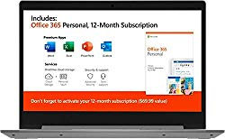 2020 Lenovo IdeaPad 14″ Laptop Computer, AMD A6-9220e 1.6GHz, 4GB Memory, 64GB eMMC Flash Memory, AMD Radeon R4, AC WiFi, Microsoft Office 365, 2 Year Warranty, Gray, Windows 10 Home