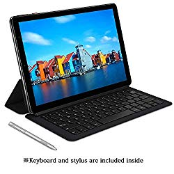 Chuwi Hi9 Plus Tablet,4G LTE Unlocked Phablet,Dual SIM Card,MTK 6797 X27 10 Core Android 8.0 Tablet,4G+128G,Dual Band WiFi,2560×1600 Resolution Screen,with Keyboard and Hipen H3 Stylus
