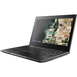 Lenovo 100E Chromebook 2ND Gen 81QB000AUS Laptop Computer, 11.6″ HD (1366 X 768) Display, MediaTek MT8173C Processor, 4GB RAM, 16GB eMMC TLC SSD, Powervr GX6250, Chrome OS, Black