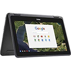Newest Dell 3189 Convertible Chromebook 11.6″ HD IPS Touchscreen, Intel Celeron N3060 Up to 2.48GHz, 4GB Ram 32GB SSD, HDMI, WiFi, Webcam, Chrome OS- (Renewed)