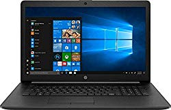 2019 HP 17.3″ HD+ Flagship Home & Business Laptop, Intel Quad Core i5-8265U Processor Upto 3.9GHz, 8GB RAM, 256GB SSD, DVD-RW, WiFi, HDMI, GbE LAN, Bluetooth, Windows 10, Black