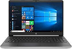 2020 HP 15.6″ Touchscreen Laptop Computer, 10th Gen Intel Quard-Core i5 1035G1(Beats i7-7500U), 8GB DDR4 RAM, 512GB PCIe SSD, AC WiFi, Silver, Windows 10 Home + EST External DVD+ Accessories