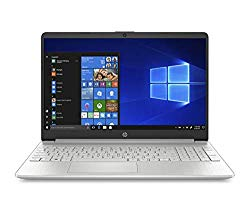 HP 15-Inch HD Touchscreen Laptop, 10th Gen Intel Core i5-1035G1, 8 GB SDRAM, 512 GB Solid-State Drive, Windows 10 Home (15-dy1020nr, Natural Silver)