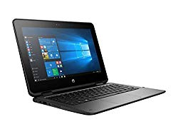 HP ProBook x360 2-in-1 G1 EE 11.6″ (1366×768) Touchscreen business Laptop PC, Intel Dual Core Celeron, 128GB SSD, 4GB DDR3L, 802.11ac WiFi, USB type C, HDMI, Bluetooth, Windows 10 Pro, only 3.2 LB